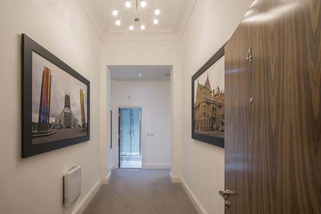 Hallway at Cook Street Apartments