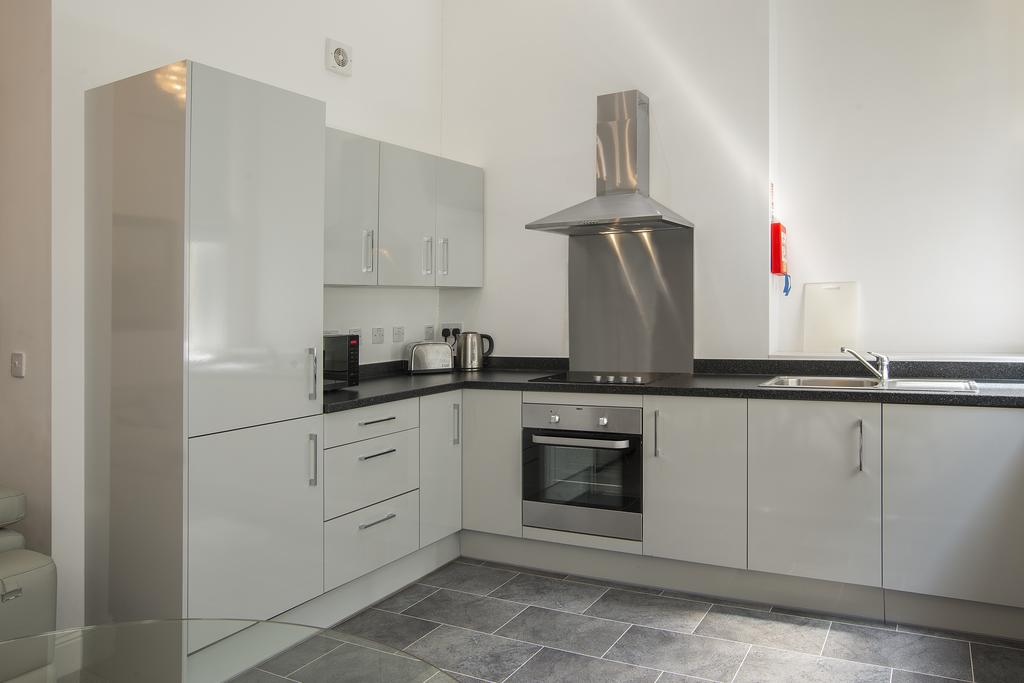 Kitchen at Cook Street Apartments
