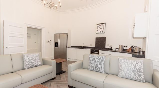 Lounge at The Crescent Serviced Apartments