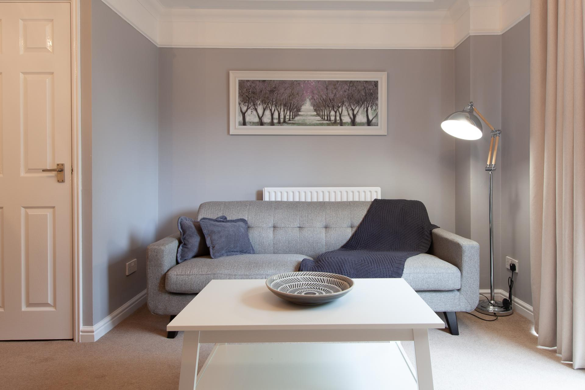 Sofa at Barry Road House, Abington, Northampton