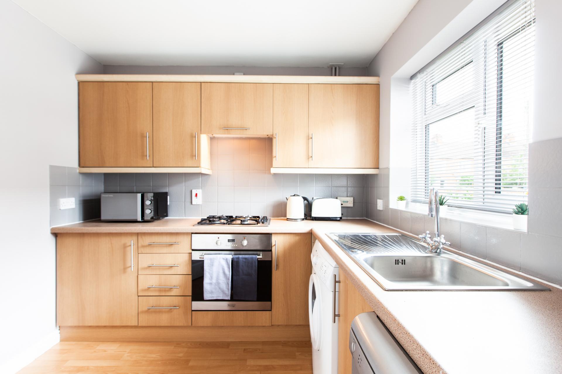 Kitchen at Barry Road House, Abington, Northampton