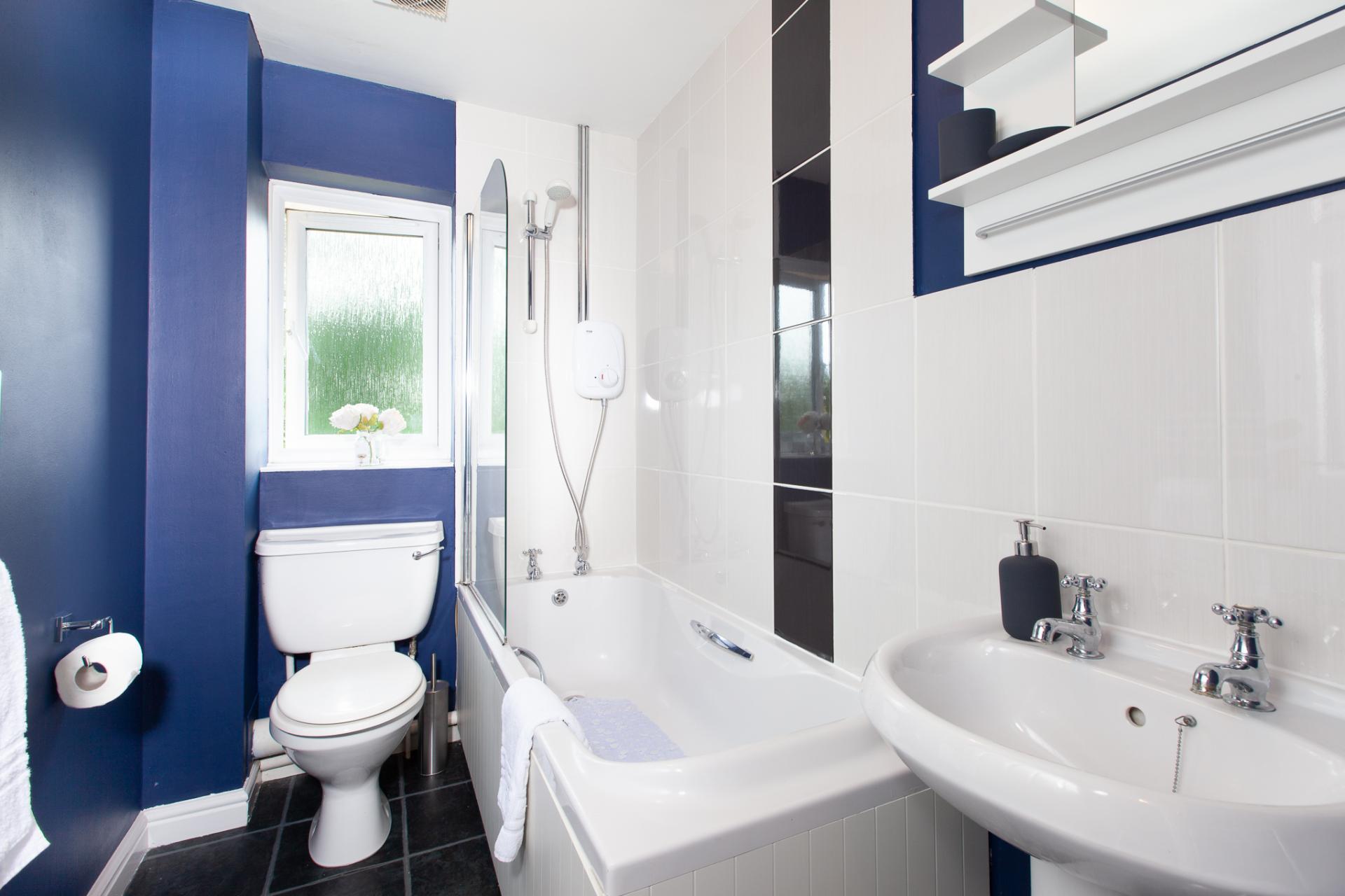 Bathroom at Barry Road House, Abington, Northampton