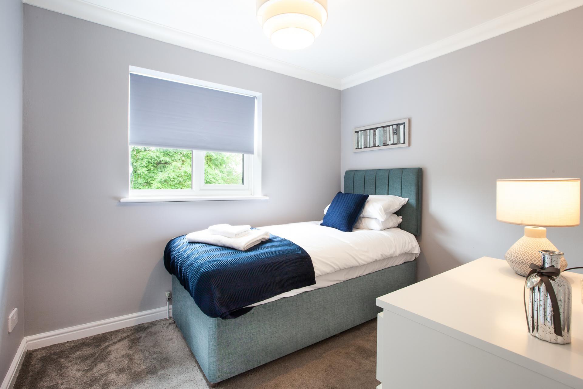 Bedroom at Barry Road House, Abington, Northampton