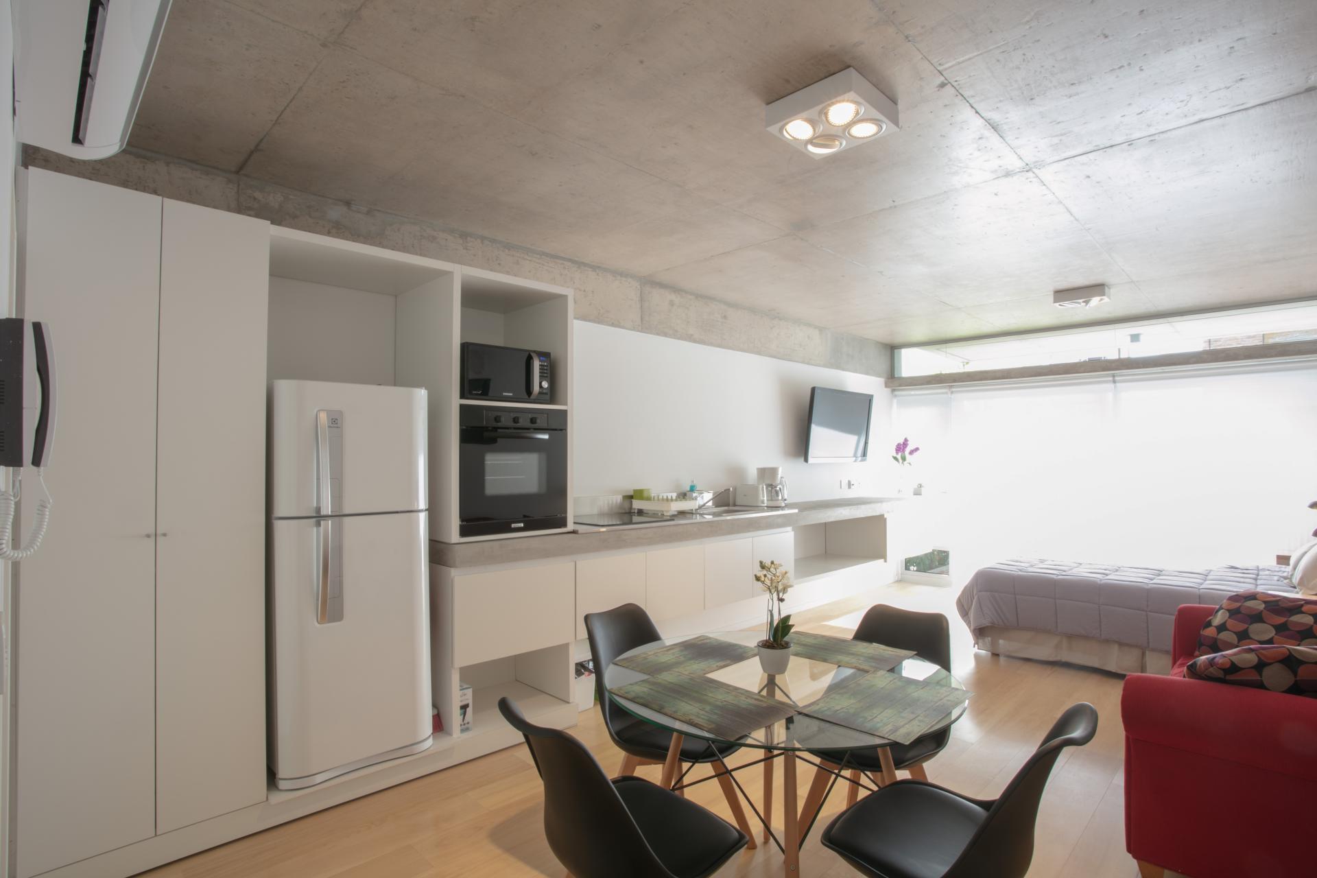 Kitchen at Hollywood Nippon Apartment