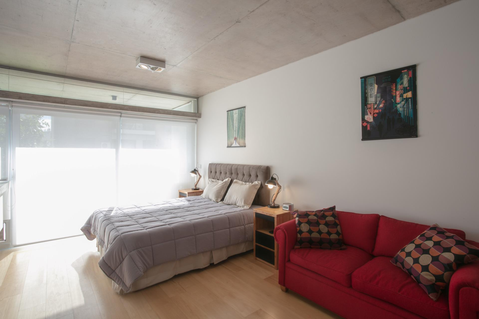 Bed at Hollywood Nippon Apartment