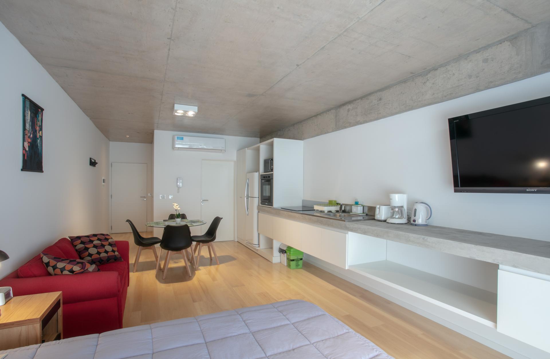 Studio apartment at Hollywood Nippon Apartment
