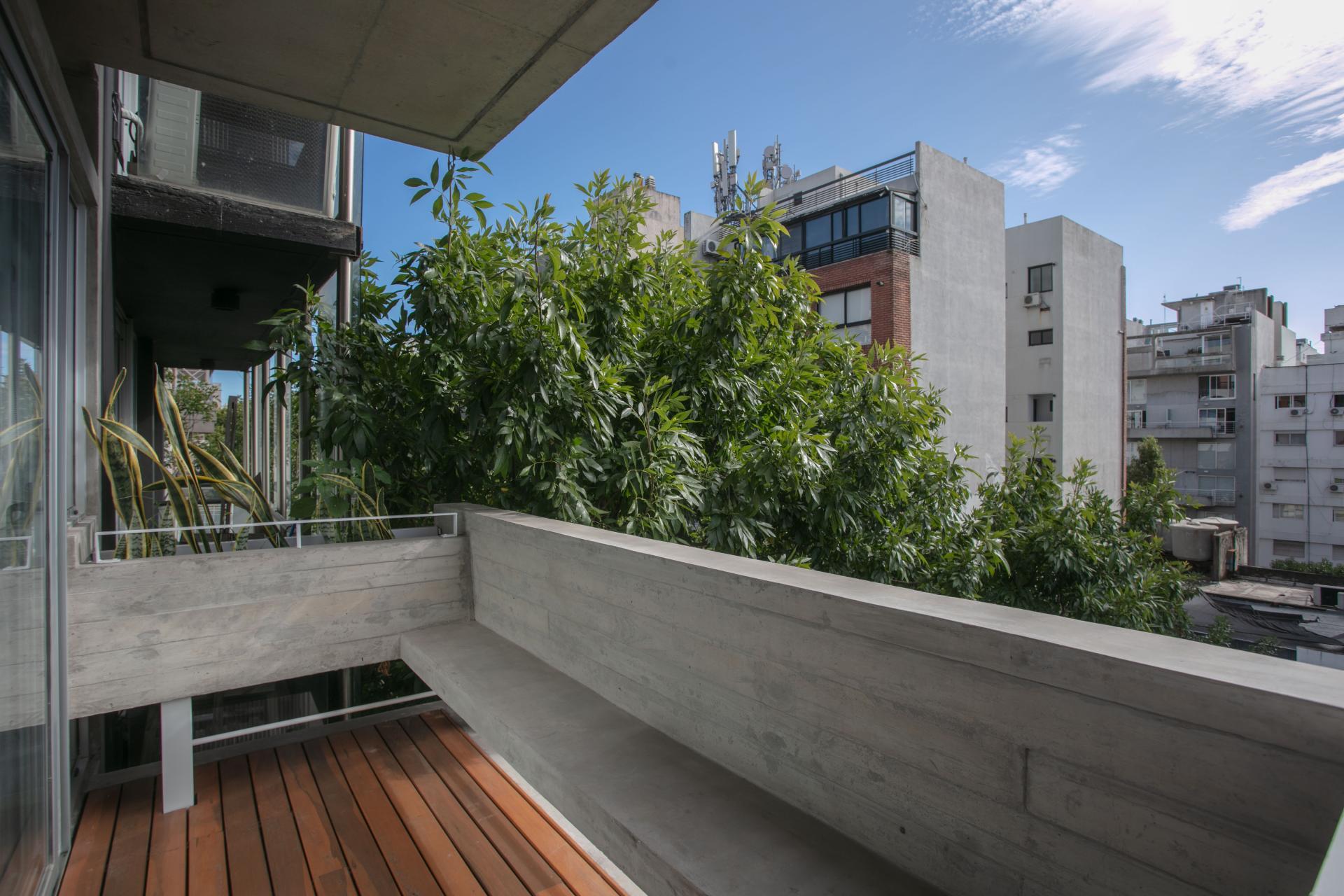 Balcony at Hollywood Nippon Apartment