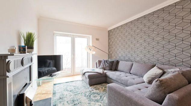 Living area at The Fitzwilliam Quay Apartment, Stella Gardens, Dublin