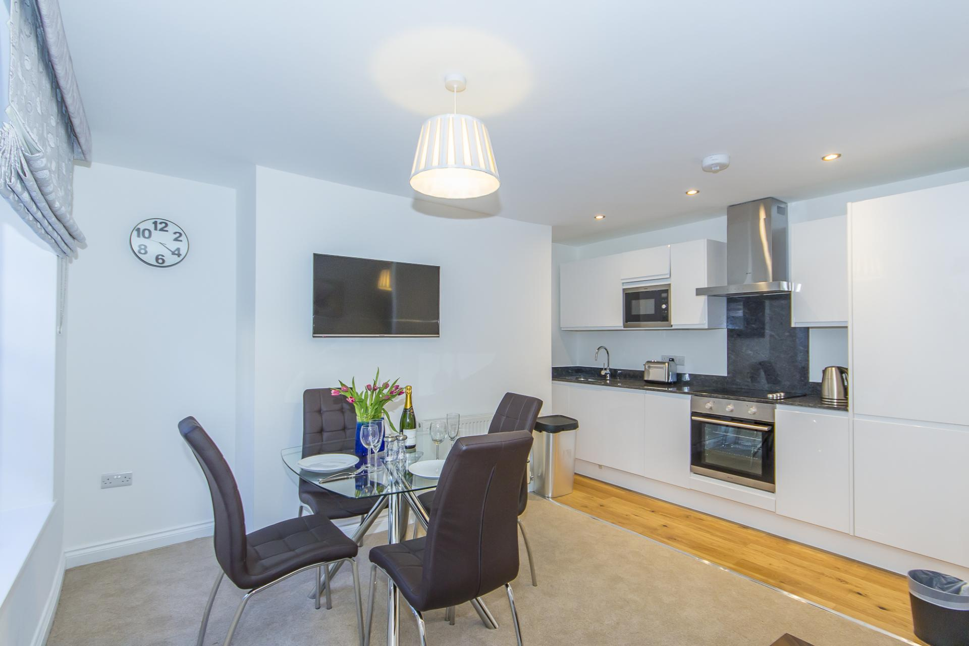 Kitchen at Durnford Street Apartment