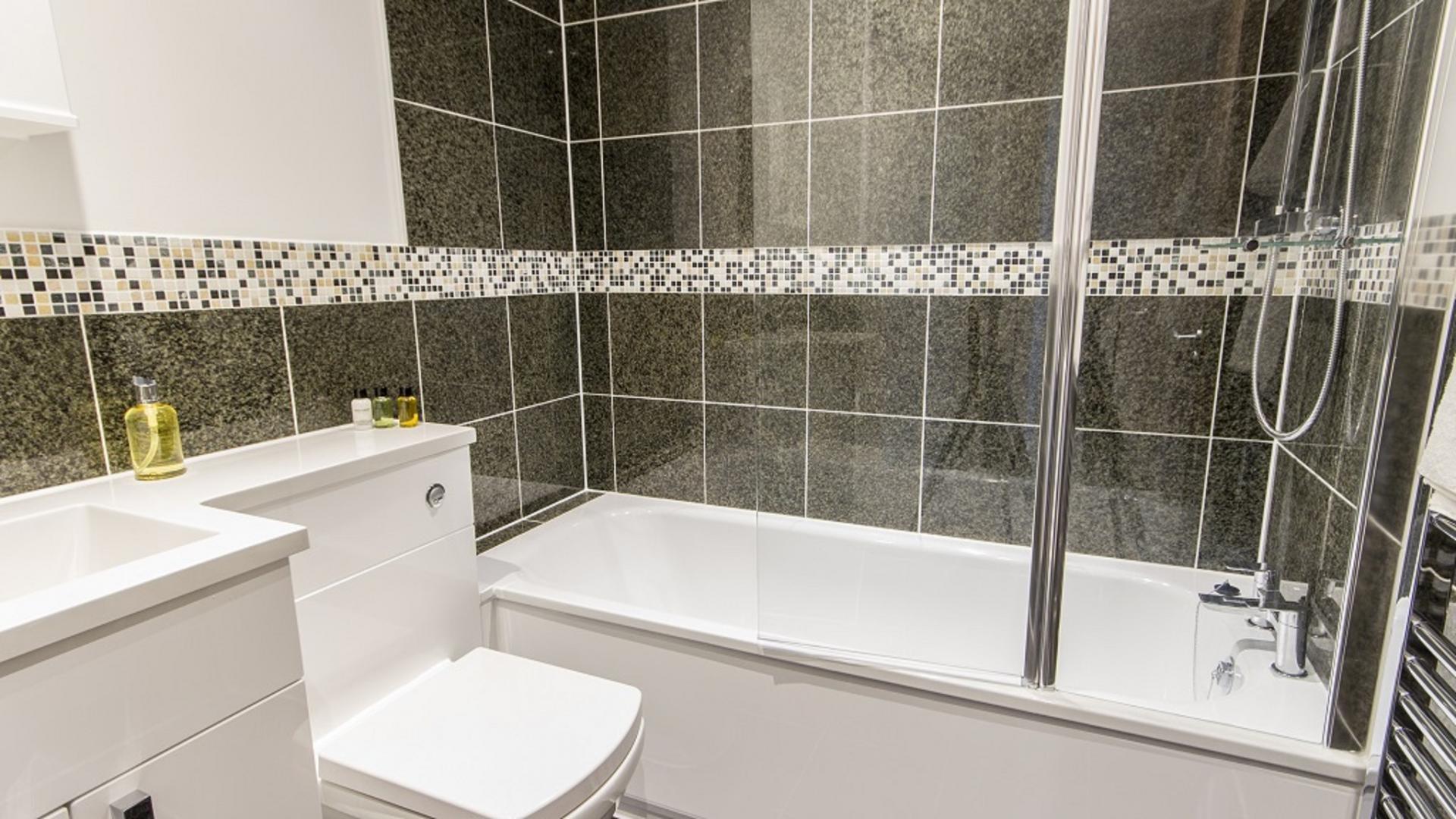 Bathroom at Durnford Street Apartment