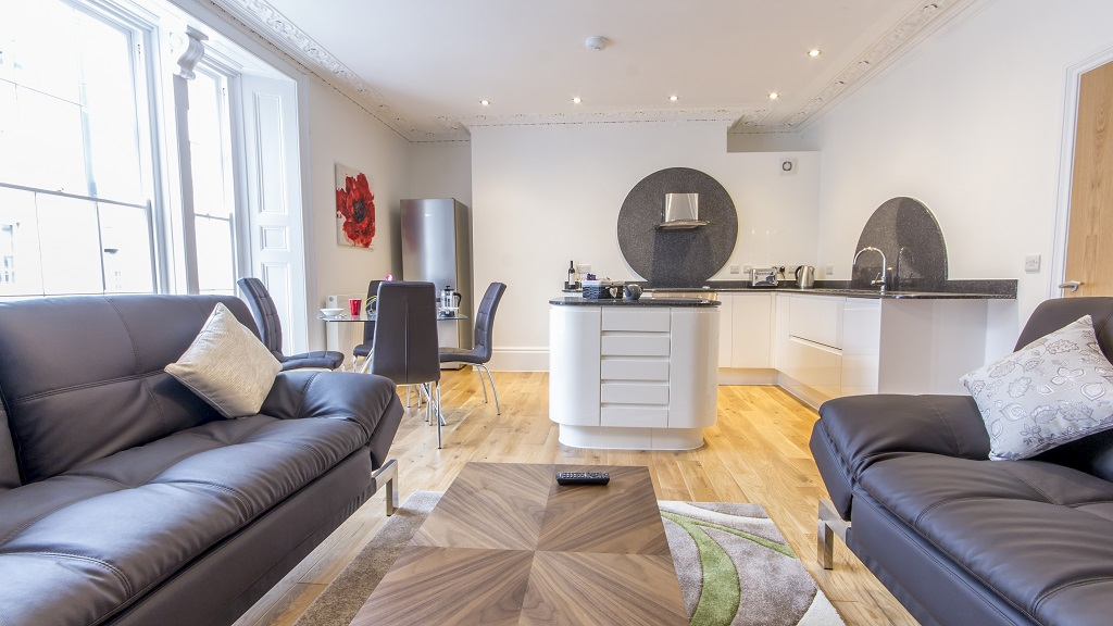 Dining area at Durnford Street Apartment