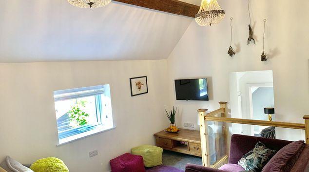 Living room at Gateway Apartments Kegworth