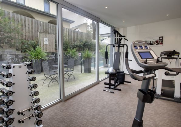Gym at Punthill Knox Apartments