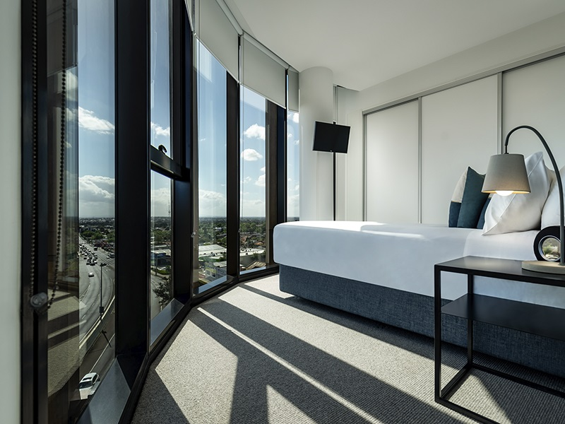 Bedroom at Punthill Ivanhoe Apartments