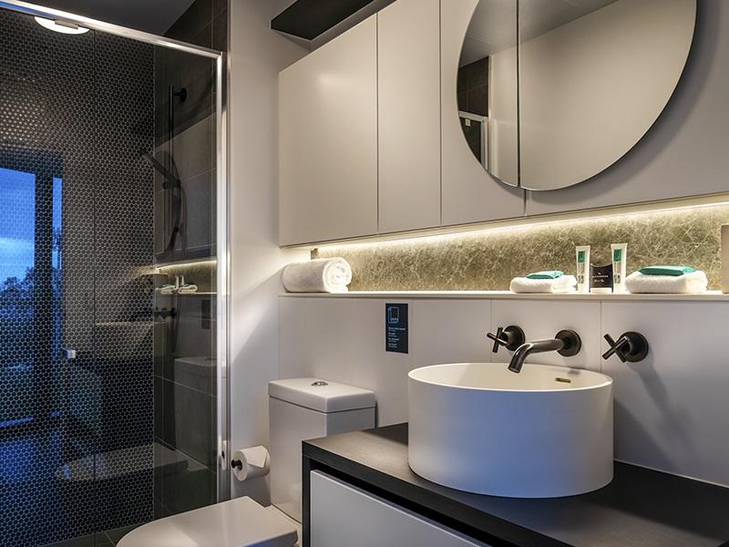 Bathroom at Punthill Ivanhoe Apartments