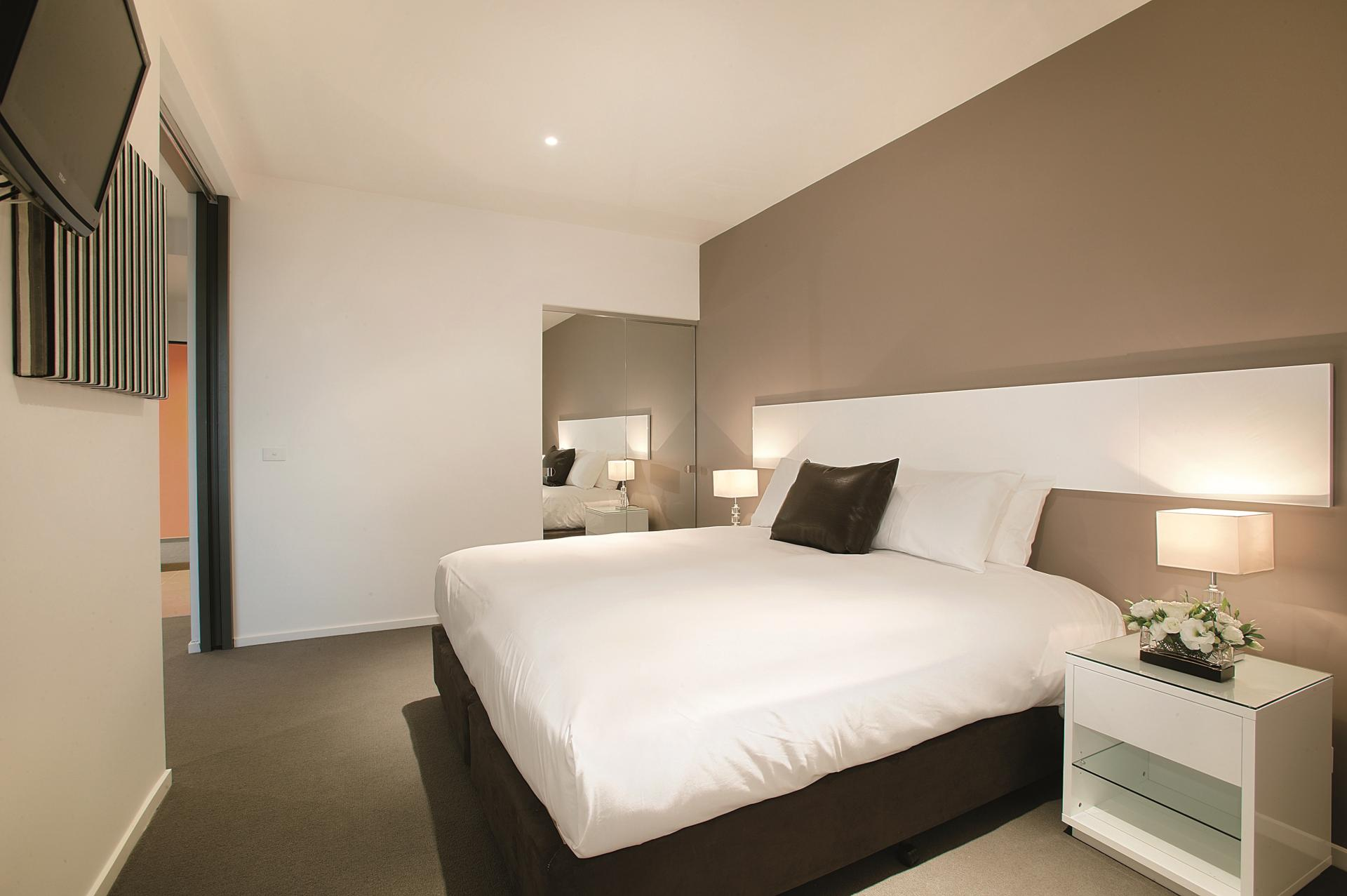 Bedroom at Punthill Oakleigh Apartments