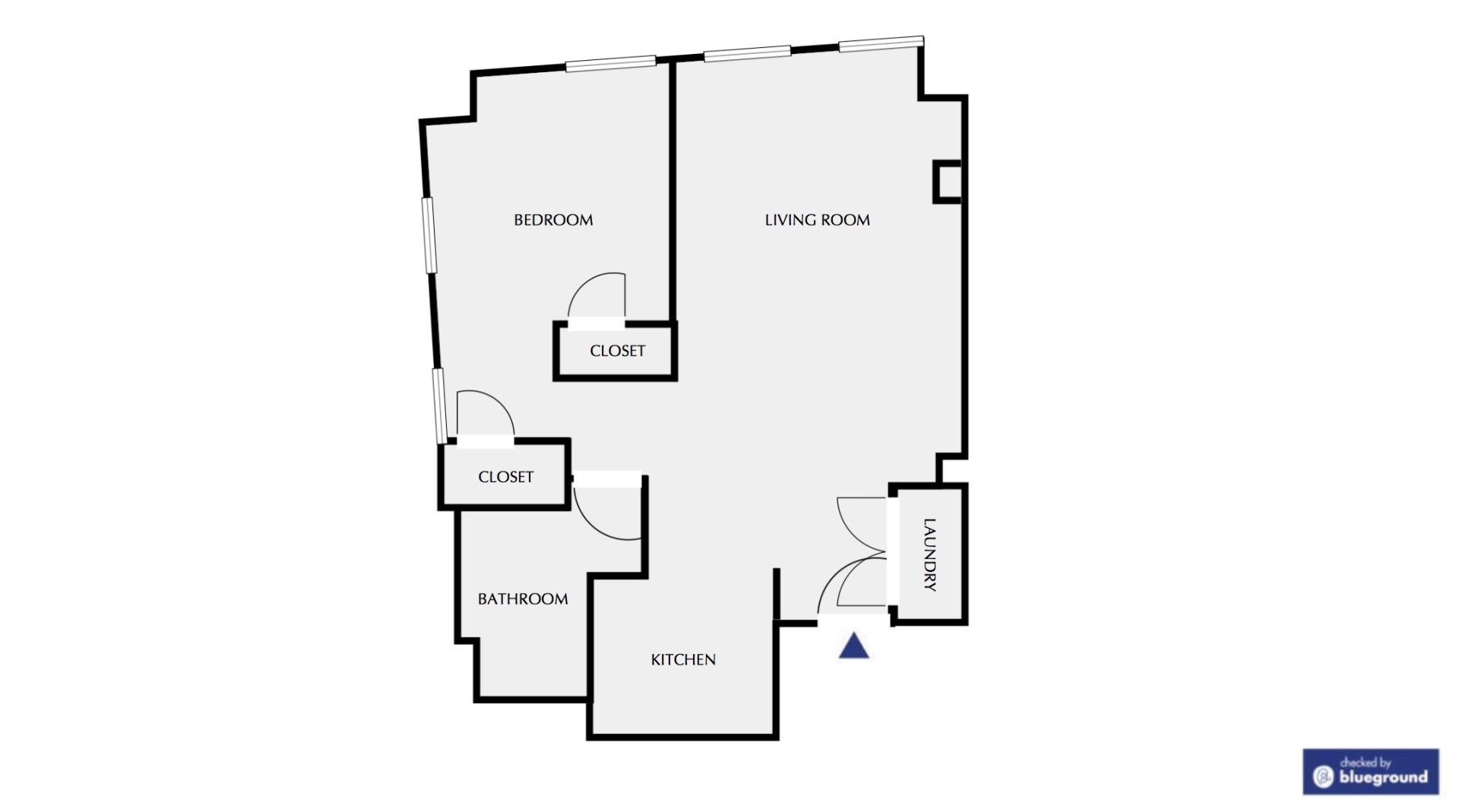 Floor plan of The Lofts on Atlantic Wharf Apartment