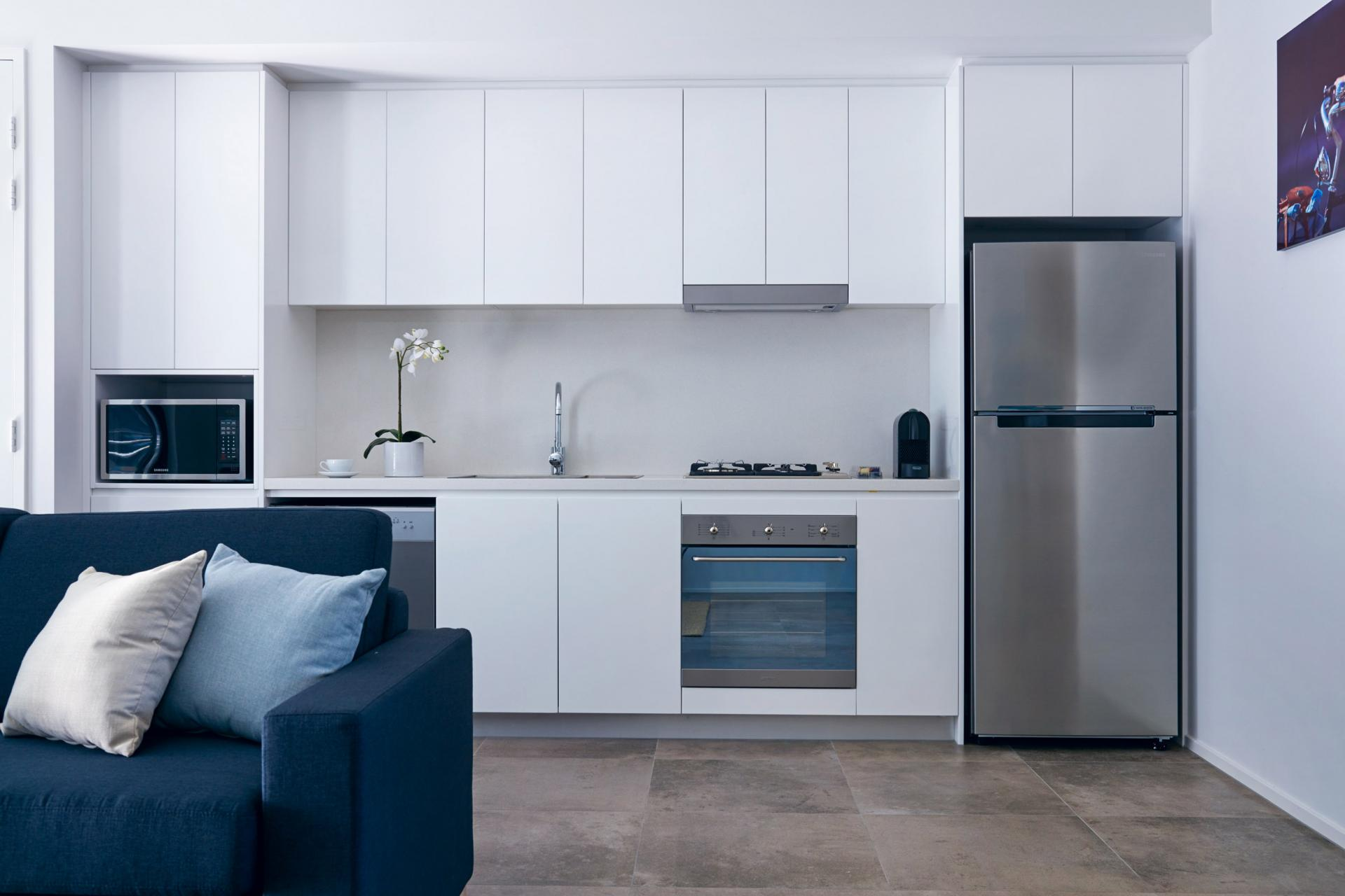 Kitchen at Veriu Camperdown Apartments