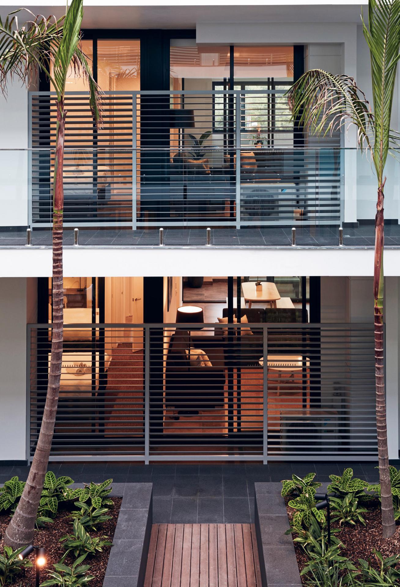 Balcony at Veriu Camperdown Apartments