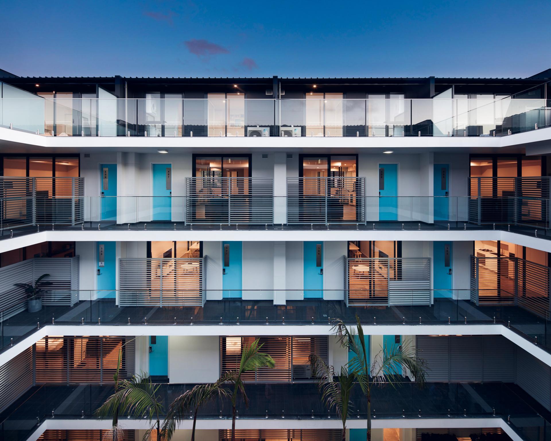 External view of Veriu Camperdown Apartments