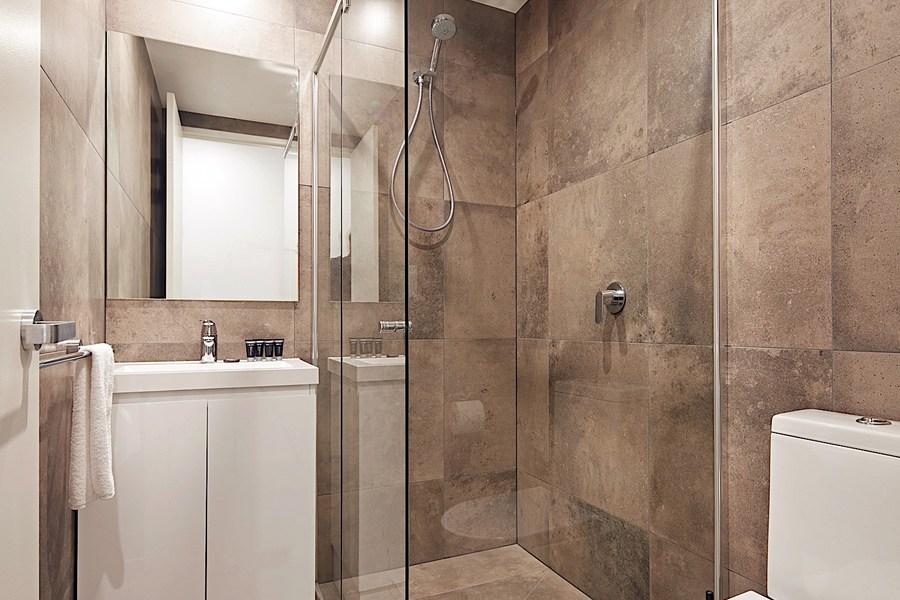 Bathroom at Veriu Camperdown Apartments