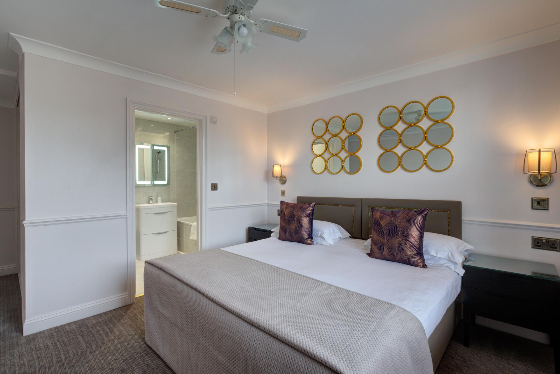 Cosy Bedroom at Collingham Serviced Apartments, Kensington, London