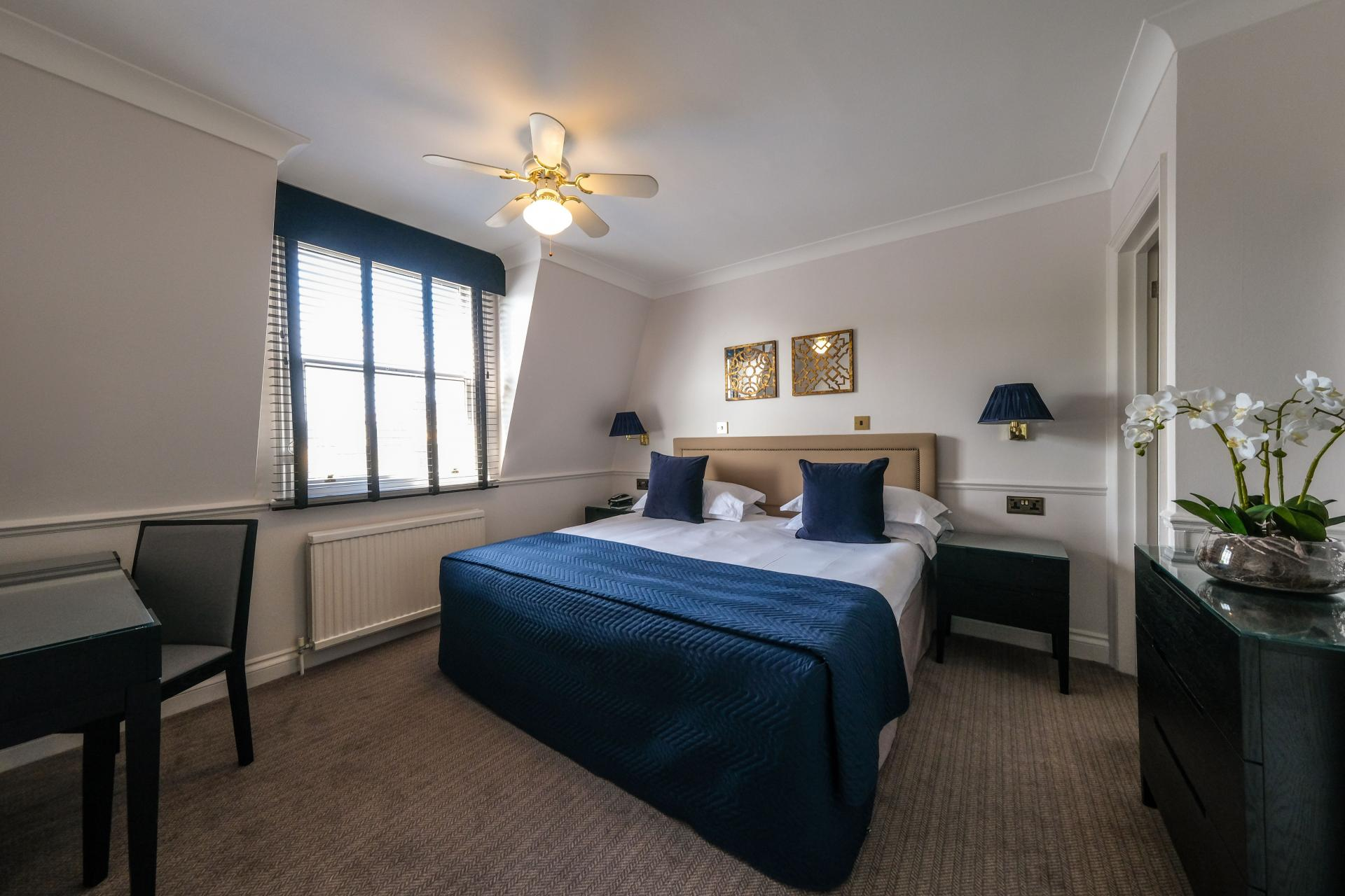 Light Bedroom at Collingham Serviced Apartments, Kensington, London