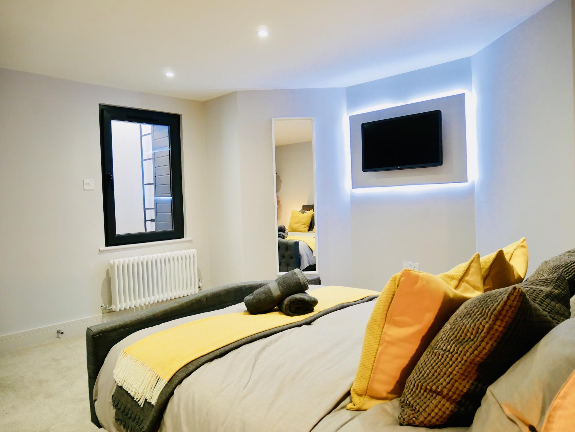 TV at AlumPointe Apartments