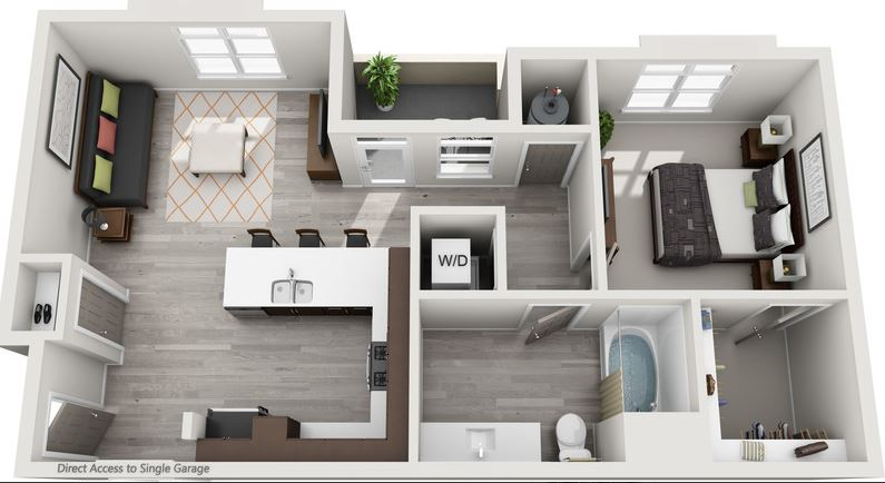 Floor plan of Solana Lucent Station Apartments