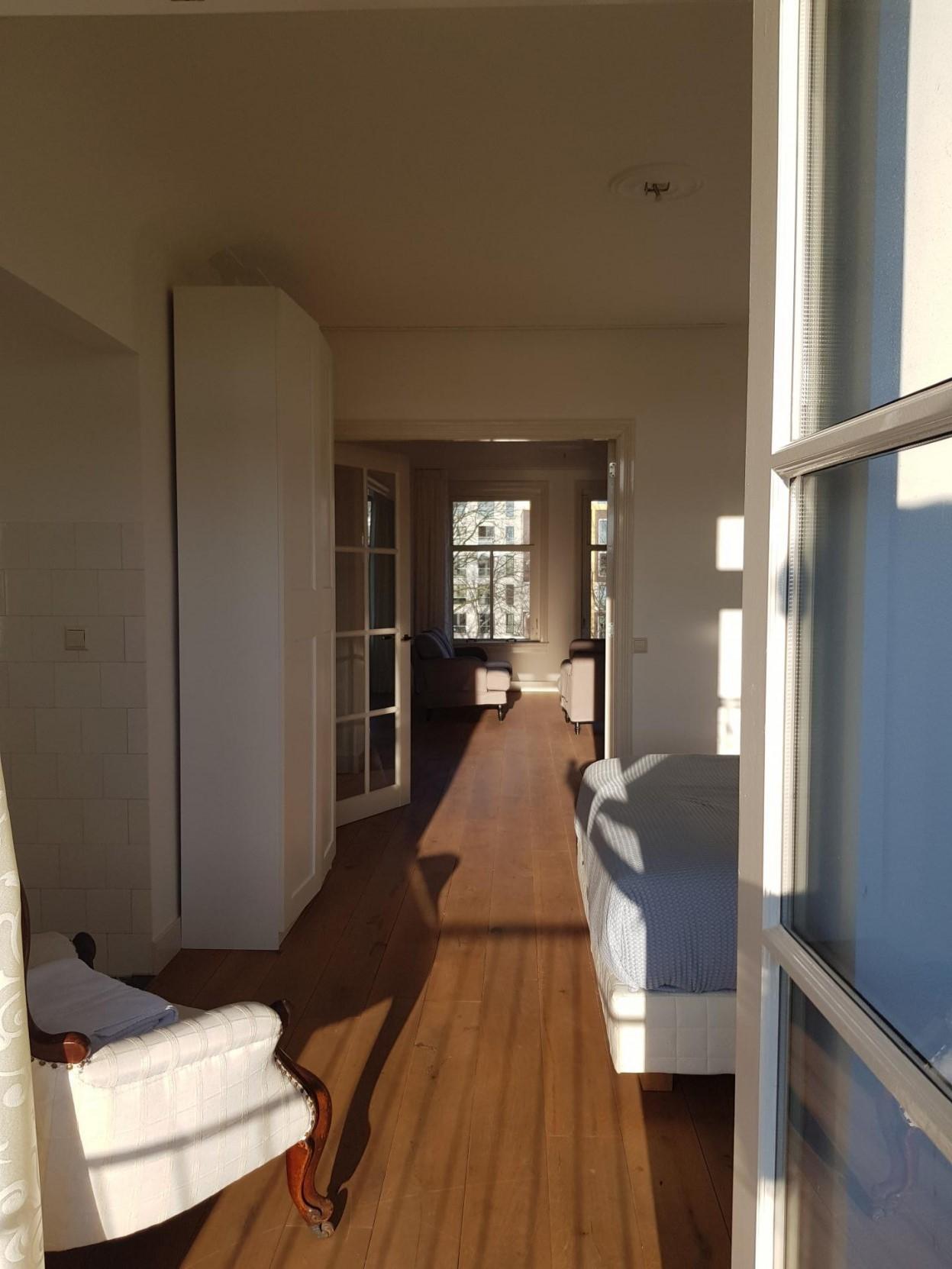 Hall at 21 Haarlemmerplein Apartments, Amsterdam