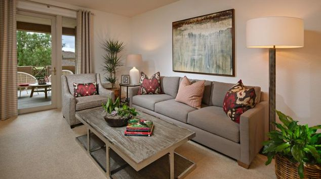 Lounge at Pacific View Apartment, Centre, Carlsbad