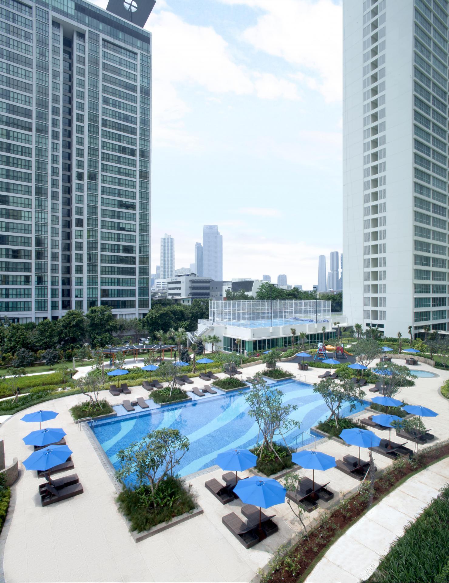 Pool at Fraser Place Setiabudi Jakarta