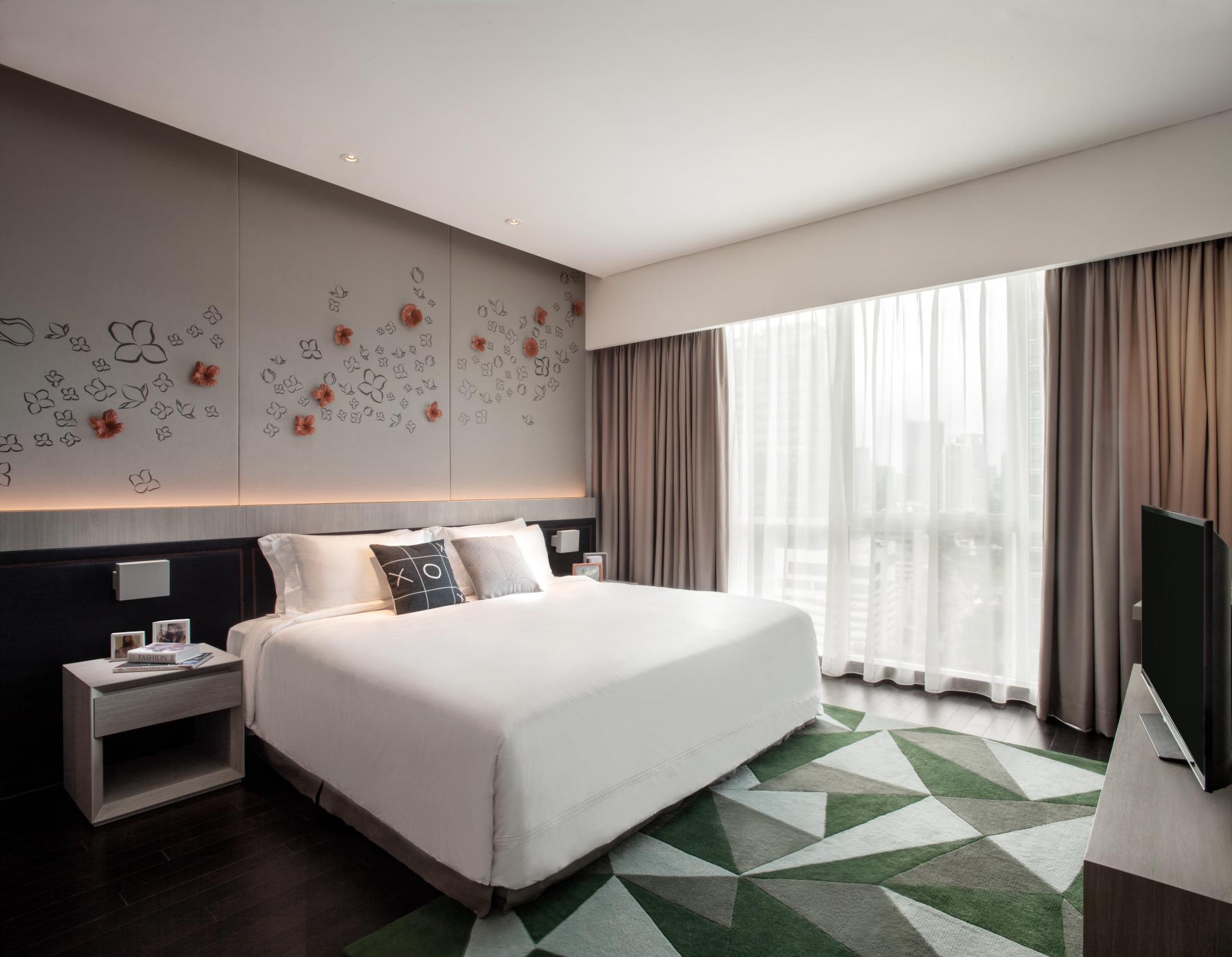 Bedroom at Fraser Place Setiabudi Jakarta