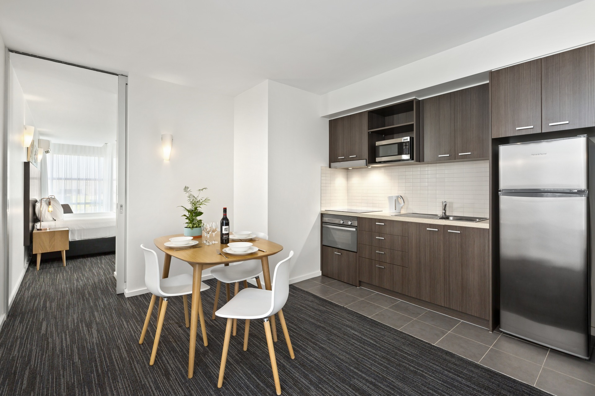 Dining Area at Quest Caroline Springs Apartments