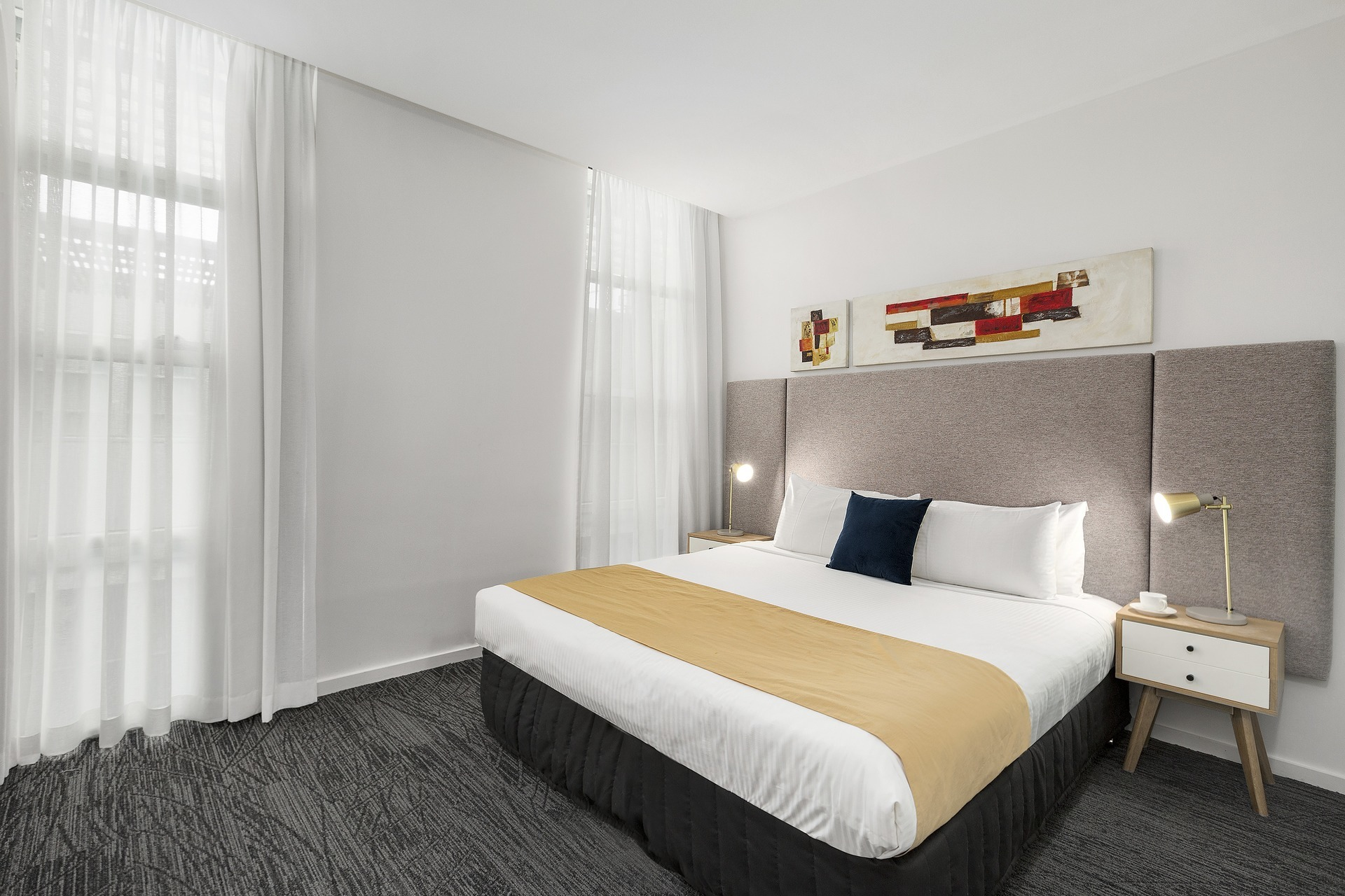 Bedroom at Quest Caroline Springs Apartments