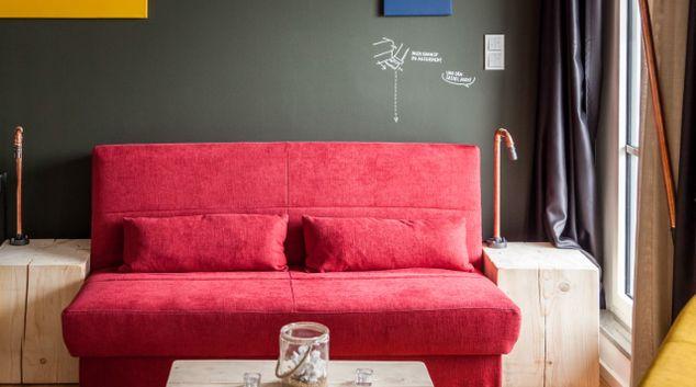 Living area at Felix Suites