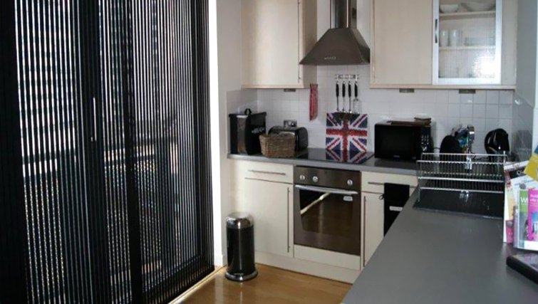 Gorgeous kitchen in Cranbrook House Serviced Apartments