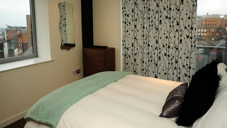 Excellent bedroom in Cranbrook House Serviced Apartments