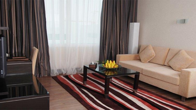 Stylish living room in Holiday Villa Residence City Centre Doha