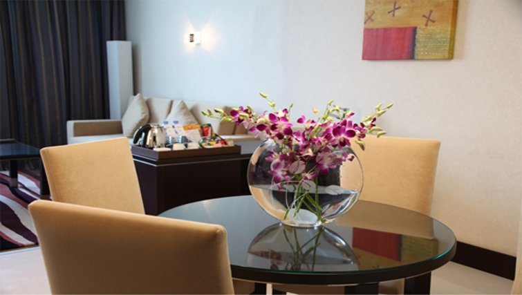 Spacious dining area in Holiday Villa Residence City Centre Doha