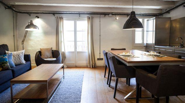 Living room at Gothic Loft Apartments, Centre, Barcelona