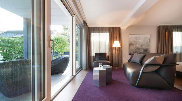 Living room at Muri Apartment, Muri, Bern