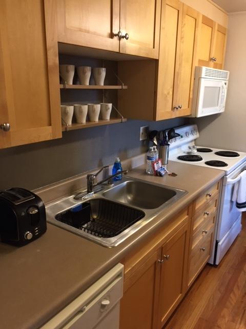Sink at Grant Street Apartment