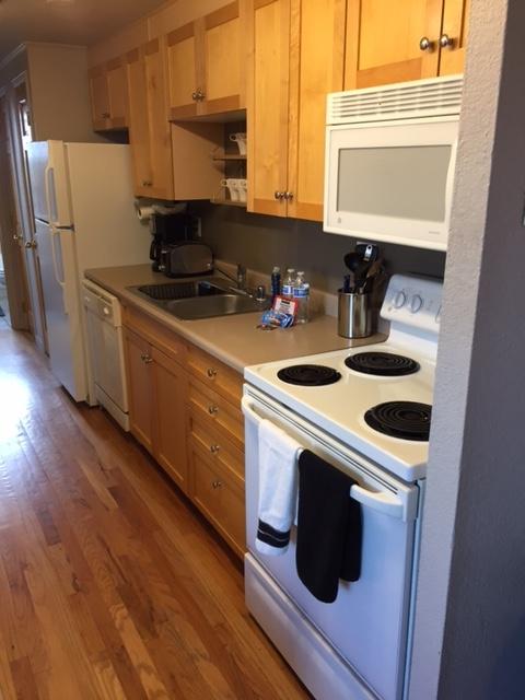 Kitchen at Grant Street Apartment
