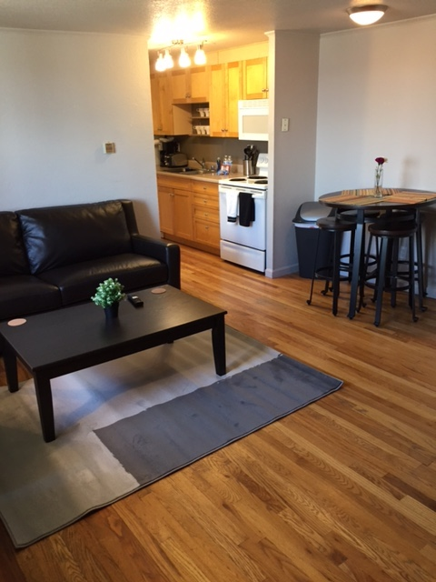 Lounge at Grant Street Apartment