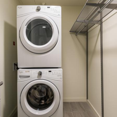 Laundry facilities at Union Denver by Daydream