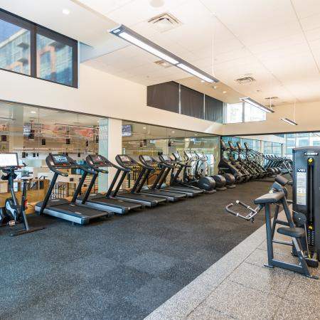 Gym at Union Denver by Daydream