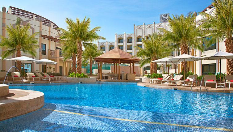 Pool at Al Ain Rotana Apartments