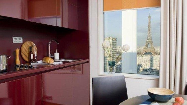 Sophisticated kitchen in Adagio Paris Centre Tour Eiffel
