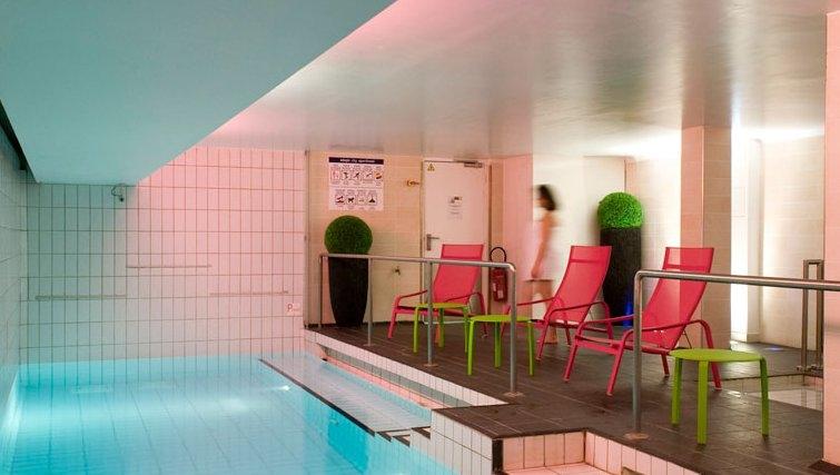 Stylish pool in Adagio Paris Centre Tour Eiffel
